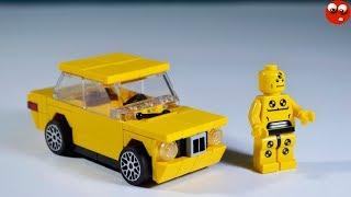 як зробити з лего машину з мотором
