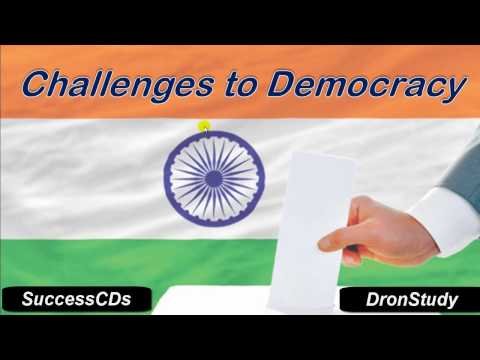 "CBSE Class 10 Social Studies   ""Challenges to Democracy "" - Civics Lesson"