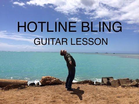 Drake - Hotline Bling - Guitar Lesson