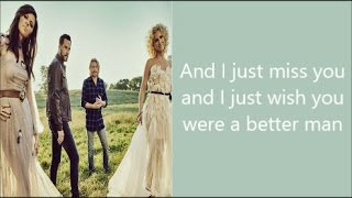 A Better Man Little Big Town