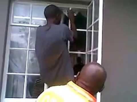 Climbing Through Burglar Bars Crime South Africa Youtube