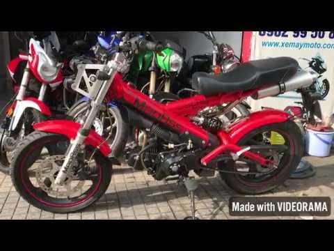 [Đã Bán] Moto Côn Tay Rất Cá Tính. MADASS 125cc 2 Thắng đĩa. Giá 29,5tr. Tel : 0902995088