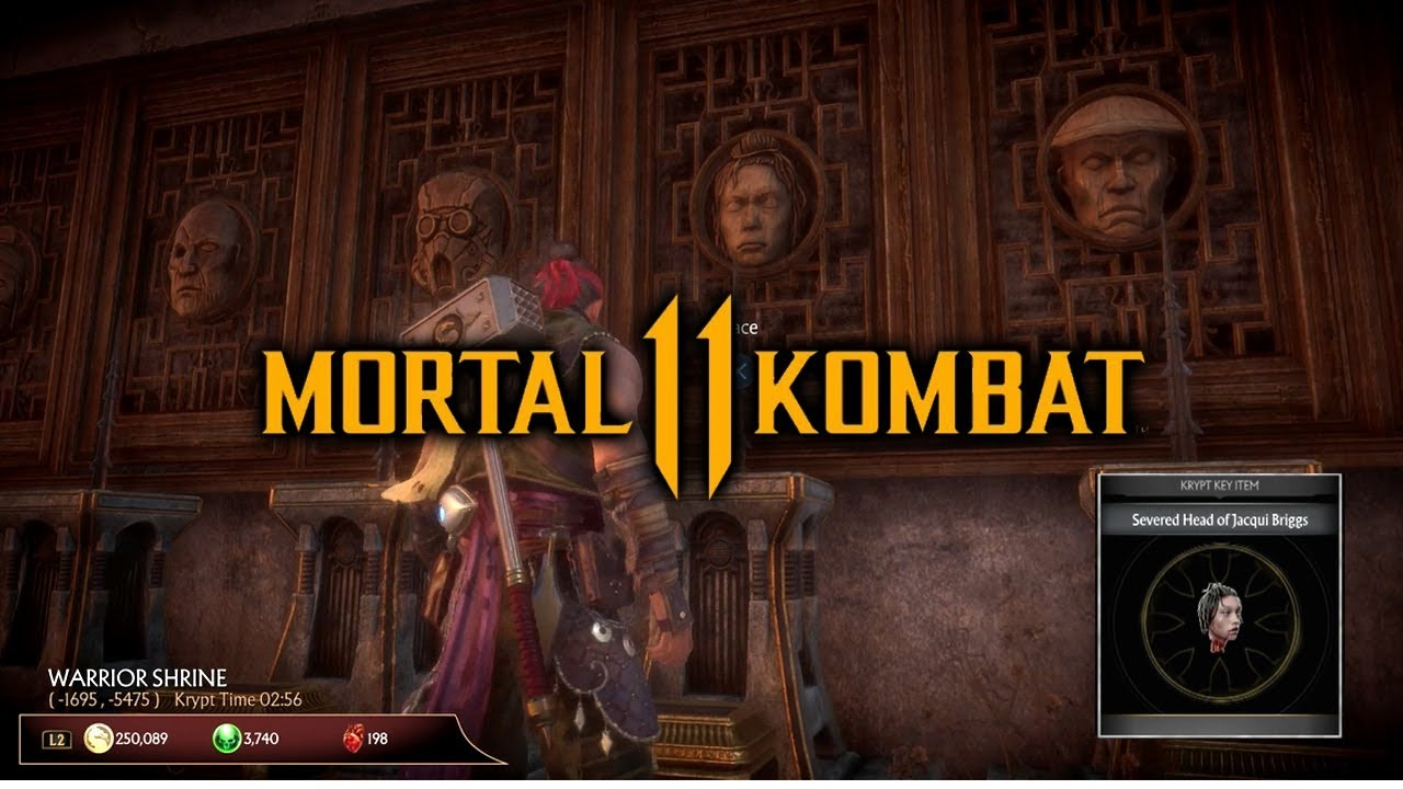 Mortal Kombat 11 Krypt - How to Get Character Head for Warrior Shrine Guide (100% Working)