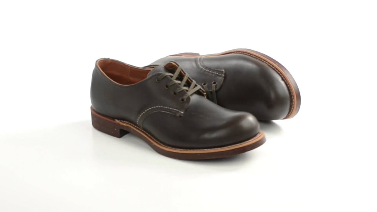 Red Wing Heritage 8053 Oxford Shoes - Factory 2nds (For Men) - YouTube