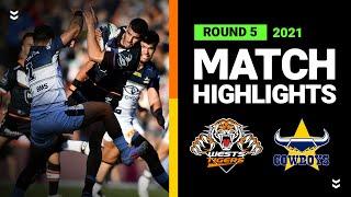 Wests Tigers v Cowboys Match Highlights   Round 5, 2021   Telstra Premiership   NRL