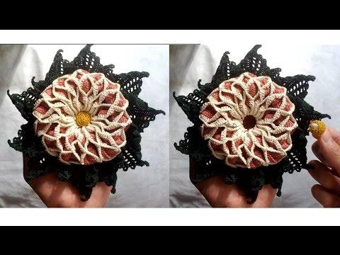 Amigurumi Learn : Learn how to crochet scented amigurumi flower youtube