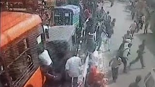 DTC cluster bus goes out of control after driver suffers heart attack; 3 killed