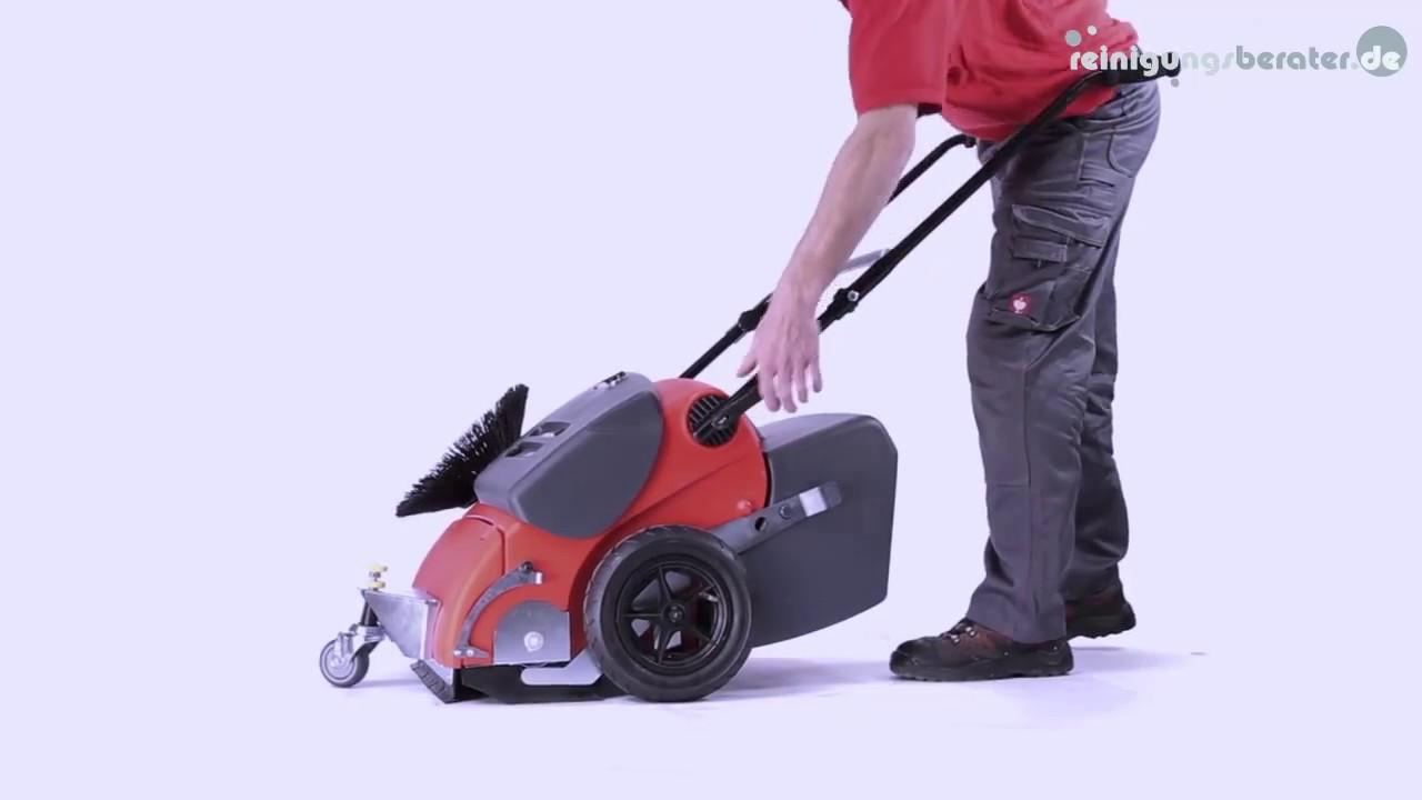 stolzenberg cs 650 elektrische profi kehrmaschine bei www