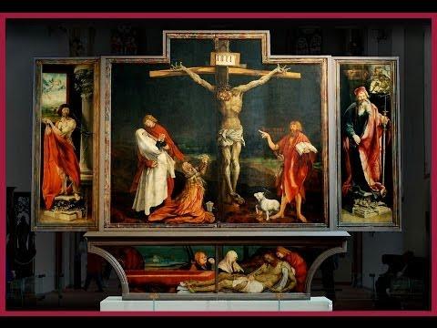 El retablo de los Ardientes · MATTHIAS GRÜNEWALD