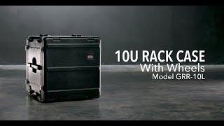 Gator Cases GRR-10L 10U Rack Case with Wheels
