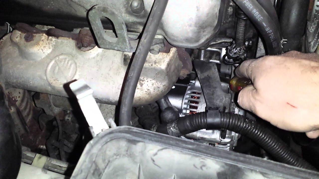 hight resolution of suzuki grand vitara alternator and belt replacement