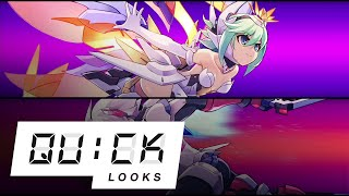 Gunvolt Chronicles: Luminous Avenger iX: Quick Look (Video Game Video Review)