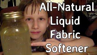 DIY All Natural Liquid Fabric Softener
