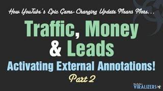 How to Activate YouTube's External Annotations On Your Account - Part 2 | Viralizers