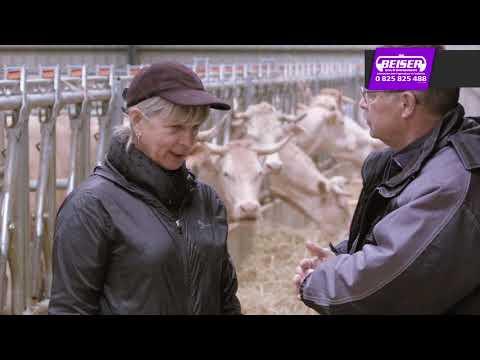 Témoignage client : cage à bovin avec réducteur - Michèle Thiriet et Laurent Colin