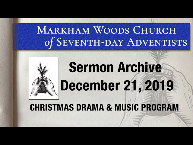 Christmas Drama & Music Program - S19 E35