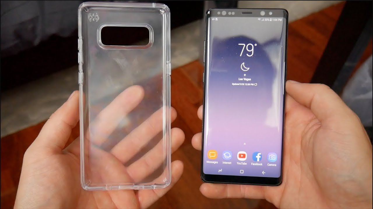 pretty nice 6ec8c 16183 The Best Crystal Clear Case for the Note 8 - Speck Presidio Clear Review