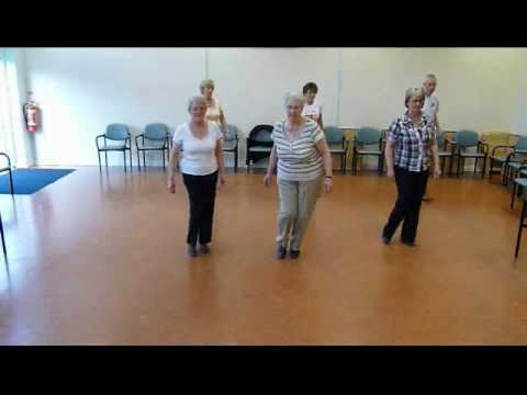 WALTZ ACROSS TEXAS line dance
