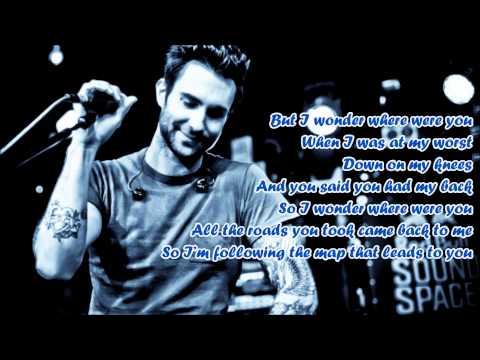 Maroon 5 - MAPS + LYRICS