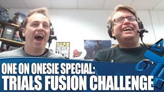 Trials Fusion PS4 Gameplay Challenge - One On Onesie