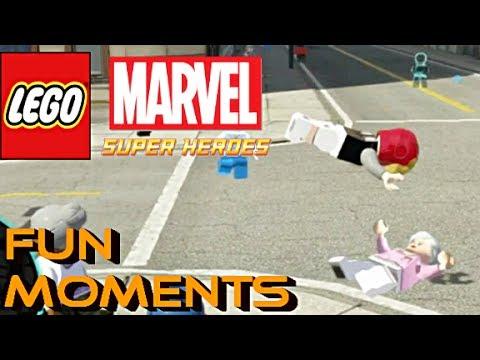 LEGO Marvel Super Heroes - TROU DE CUL IRONMAN - Moments Fun/Commentaire Français [FR]