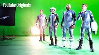 Behind the Scenes on the Set of Lazer Team | Rooster Teeth
