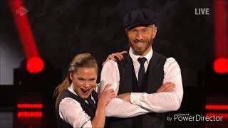 James Jordan and Alexandra Schauman skating in Dancing on Ice (17/2/19)
