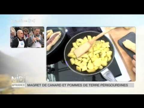recette-:-magret-de-canard-et-pommes-de-terre-sarladaises