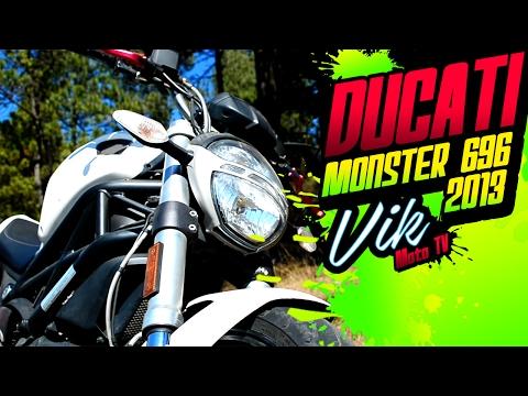 Un monstruo de motocicleta 😈 Ducati Monster 696 / Motovlog