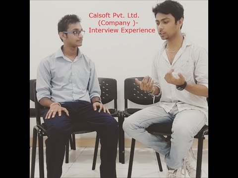 Calsoft Pvt. Ltd. Company - Interview Experience internship cum placement drive | Team MAST