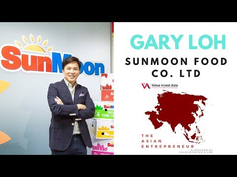 #1 The Asian Entrepreneur - Gary Loh (Sunmoon Food Co Ltd)