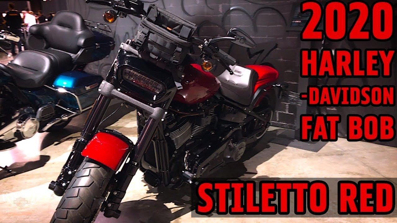 2020 Fat Bob Review.2020 Harley Davidson Fat Bob 114 In Stiletto Red Screamin Eagle Accessories