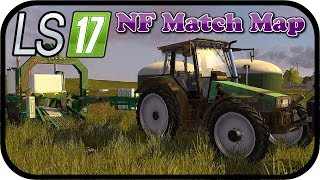 LS17 NF Match Map - Vorsorge für die Nacht treffen #037 - Farming Simulator MPManager, Nordfriesisch