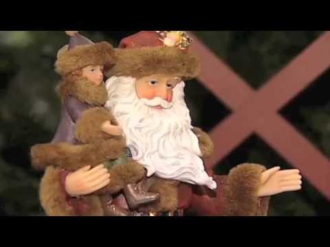 Saint Nicholas (Santa Claus), Bishop of Myra.