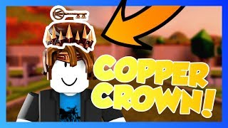 GETTING THE COPPER CROWN ON AN ALT!!! | Grinding to 1M in Roblox #1