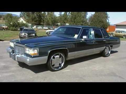 90 Cadillac Brogham Deville Fleetwood Brougham De ELegance CLEAN Car