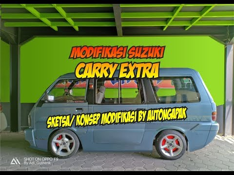 MODIFIKASI SUZUKI CARRY EXTRA CEPER - SKETSA/ KONSEP MODIFIKASI AUTONGAPAK #1