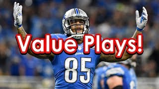 NFL Week 7 DraftKings Picks + FanDuel Picks DFS Help and Advice!