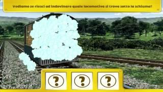 Il Trenino Thomas e il Lavaggio delle Locomotive