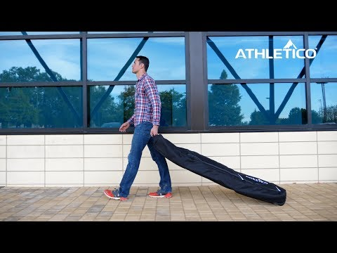 Athletico Conquest Padded Snowboard Bag with Wheels - Travel Bag for Single Snowboard and Boots