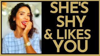 3 SECRET Signs A Shy Girl Likes You | HOW TO ATTRACT HER