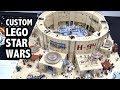 LEGO Tatooine Millennium Falcon Docking Bay | Custom Star Wars