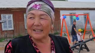 Комсомол айылында заманбап балдар аянтчасы жана согуш ардагерлерине эстелик тургузушту.