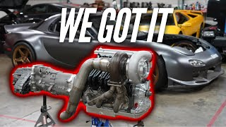 WE STOLE A MOTOR FROM AREA 51. 4 ROTOR REVEAL