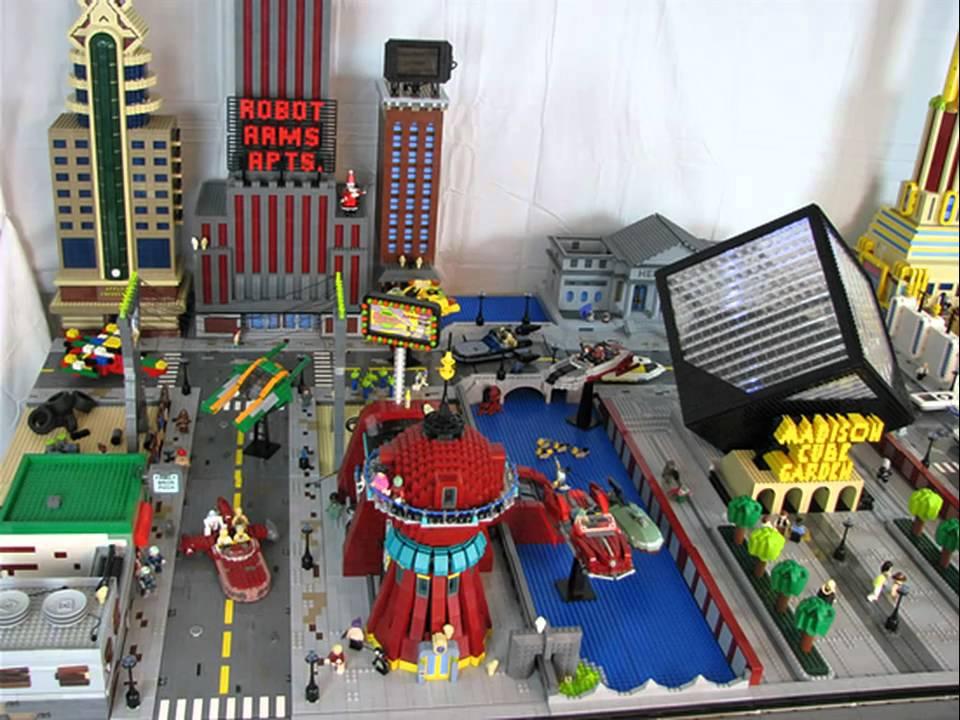 Brick Master Creates LEGO Futurama YouTube