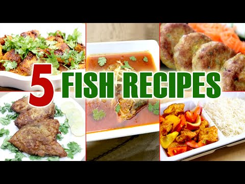 5 Fish Recipes | 5 Best Recipes Of Fish | How To Make Fish