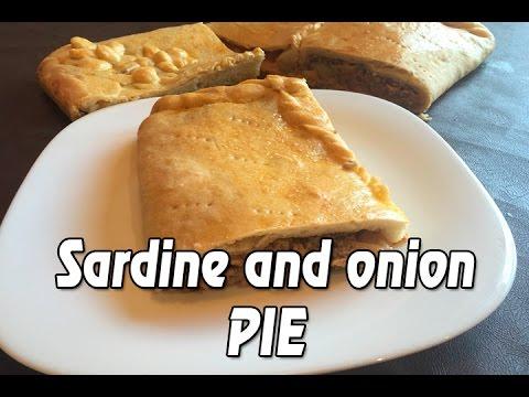 SARDINE AND ONION PIE RECIPE