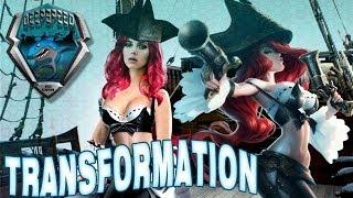 New Scarlett Johansson transformation into Miss Fortune - League of Legends