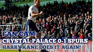 FAN CAM: Crystal Palace 0-1 Tottenham: Left It Late But Harry Kane Does It Again! 25 February 2018