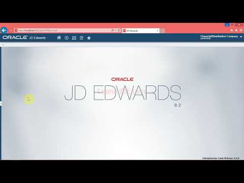 0602 Adding and Viewing Media Objects in the JDE